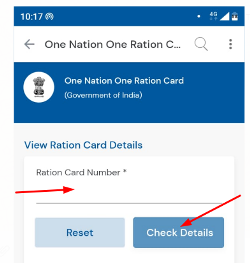 One Nation One Ration Card